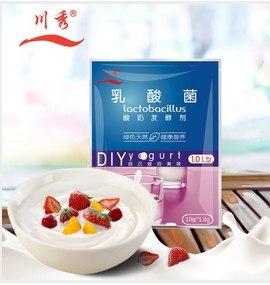 Закваски и косметика для дома -  Китай -  Закваска `Чуаньсю`<br />  для йогурта , уп. 10 пак.*1г, арт. 10_Yogurt_CHuansu